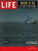Life Magazine, August 6, 1956 - Andrea Doria sinks