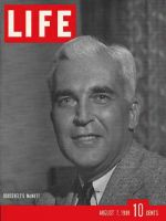 Life Magazine, August 7, 1939 - FSA's Paul McNutt