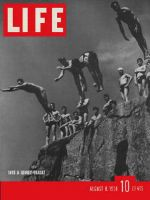 Life Magazine, August 8, 1938 - Swimming spots