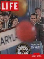 Life Magazine, August 8, 1960 - Nominee Nixon