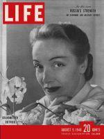 Life Magazine, August 9, 1948 - Marlene Dietrich