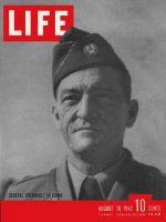 Life Magazine, August 10, 1942 - General Chennault