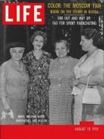 Life Magazine, August 10, 1959 - The Nixons in the U.S.S.R.