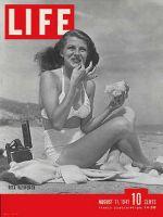 Life Magazine, August 11, 1941 - Rita Hayworth