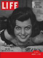 Life Magazine, August 11, 1952 - Joan Rice