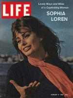 Life Magazine, August 11, 1961 - Sophia Loren