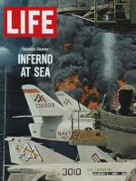 Life Magazine, August 11, 1967 - U.S.S. Forrestal disaster