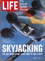 Life Magazine, August 11, 1972 - Escape hatch for Skyjackers