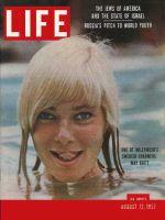Life Magazine, August 12, 1957 - May Britt