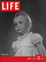 Life Magazine, August 14, 1939 - Baby actress