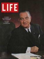 Life Magazine, August 14, 1964 - President Lyndon B. Johnson