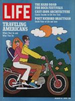 Life Magazine, August 14, 1970 - Summer nomads, America travels