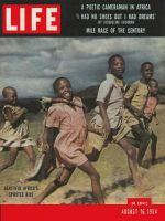 Life Magazine, August 16, 1954 - Basutoland
