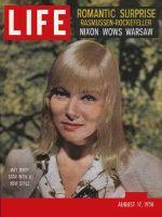 Life Magazine, August 17, 1959 - May Britt
