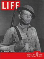Life Magazine, August 18, 1941 - Wartime in Bermuda