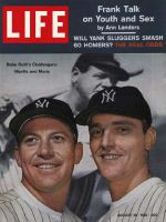 Life Magazine, August 18, 1961 - Mickey Mantle and Roger Maris, baseball