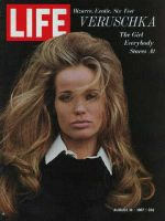 Life Magazine, August 18, 1967 - Model Veruschka
