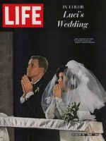 Life Magazine, August 19, 1966 - Pat and Luci Nugent at their wedding