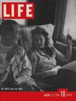 Life Magazine, August 21, 1939 - Train travel
