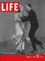 Life Magazine, August 22, 1938 - Rogers and Astaire