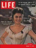 Life Magazine, August 22, 1955 - Sophia Loren