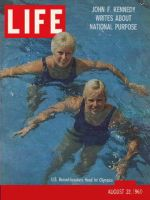 Life Magazine, August 22, 1960 - Olympic swimmers