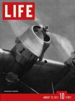 Life Magazine, August 23, 1937 - Transocean Plane