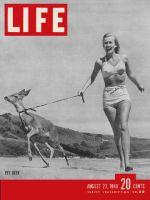 Life Magazine, August 23, 1948 - Women with pet deer