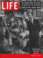 Life Magazine, August 23, 1954 - Duke of Edinburgh