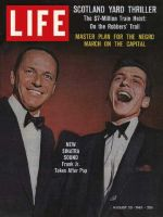 Life Magazine, August 23, 1963 - Sinatras, Senior and Junior