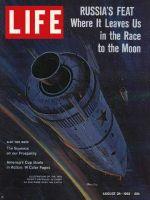 Life Magazine, August 24, 1962 - Soviet Space Capsules