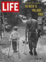 Life Magazine, August 25, 1967 - Marine and young Vietnamese friend