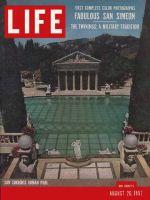 Life Magazine, August 26, 1957 - Hearst's San Simeon