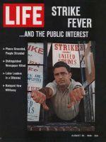 Life Magazine, August 26, 1966 - Strike fever