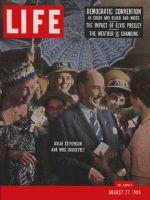 Life Magazine, August 27, 1956 - Eleanor and Adlai Stevenson