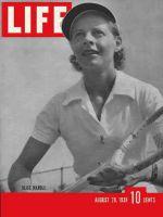 Life Magazine, August 28, 1939 - Alice Marble