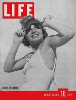 Life Magazine, August 29, 1938 - Sunshades