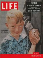 Life Magazine, August 29, 1955 - Grandson's fun