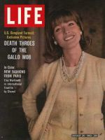 Life Magazine, August 30, 1963 - Paris fashions
