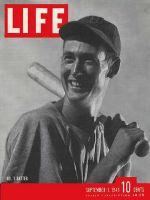 Life Magazine, September 1, 1941 - Ted Williams, baseball