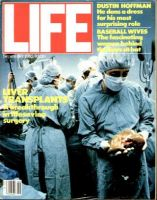 Life Magazine, September 1, 1982 - Liver Transplants