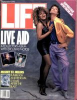 Life Magazine, September 1, 1985 - Mick Jagger And Tina Turner