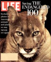 Life Magazine, September 1, 1994 - Endangered Animals