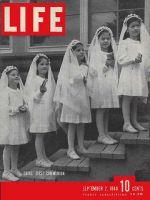 Life Magazine, September 2, 1940 - Dionne's Communion