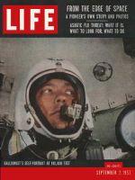 Life Magazine, September 2, 1957 - Altitude record