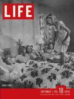 Life Magazine, September 3, 1945 - House party girls