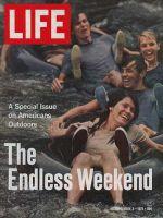 Life Magazine, September 3, 1971 - Shooting the rapids in inner tubes