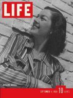 Life Magazine, September 4, 1939 - Rosalind Russell