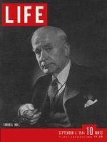 Life Magazine, September 4, 1944 - Secretary of State Hull