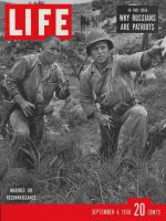 Life Magazine, September 4, 1950 - Marines on lookout
